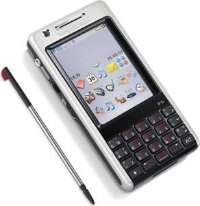 Màn hình cảm ứng, thiết kế thanh mảnh của Sony Ericsson P1i