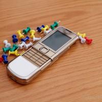 Lớp vỏ mạ vàng đẳng cấp  của Nokia 8800 Gold Arte